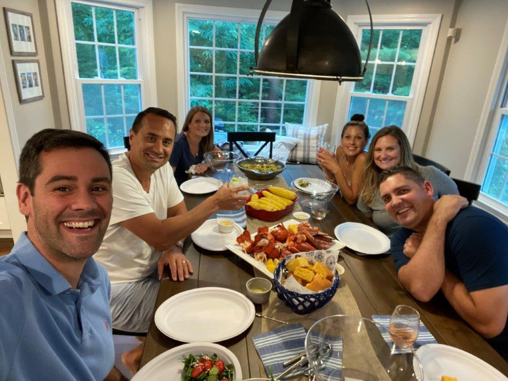 Fourth of July Lobster Bake With Friends