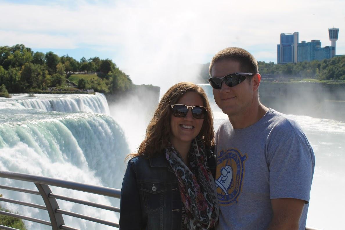 Taking in Niagara Falls