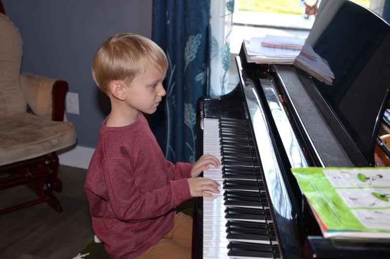 Dan Playing Piano