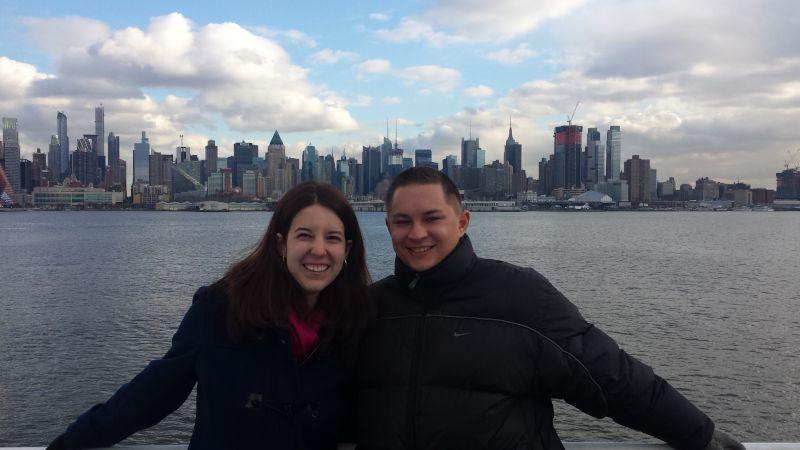 Enjoying the New York City Skyline