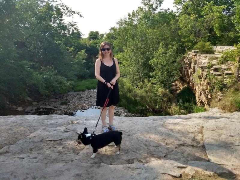 Summer Hike With Edgar