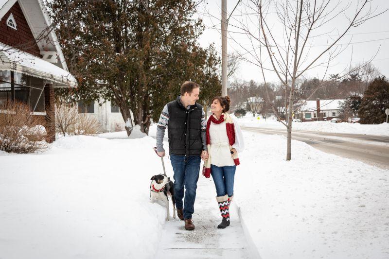 Family Walks Around the Neighborhood are the Best!