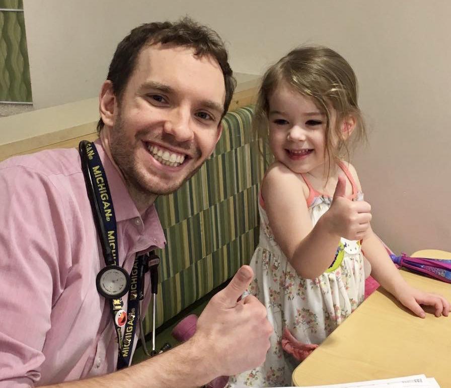 Tom & Our Niece