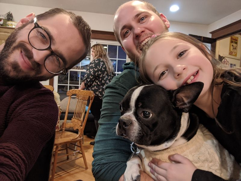 Thanksgiving With Our Niece