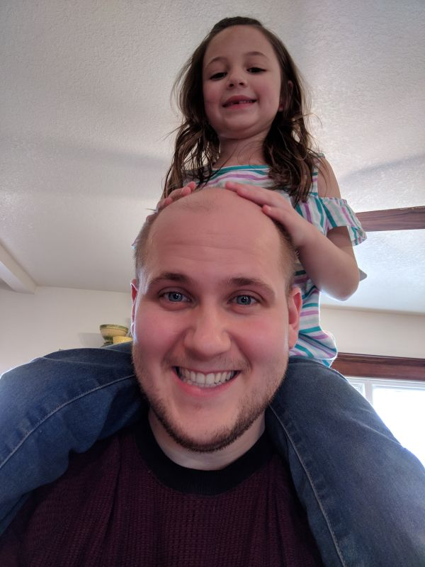 Jordan Being Silly With Our Niece