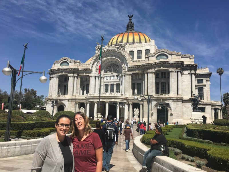 Walking Around Mexico City for the Afternoon