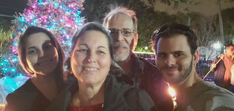 Christmas With Jennifer's Parents