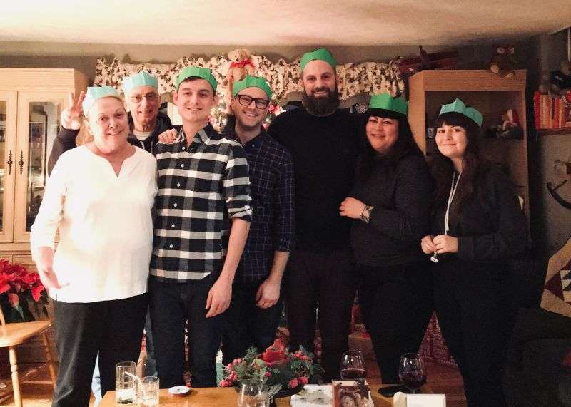 Gathering With Family at Christmas