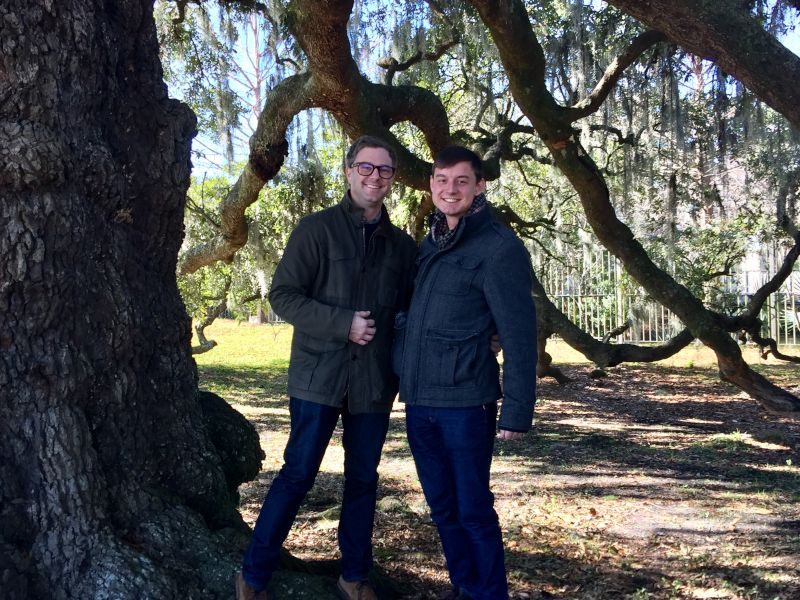 Under the Tree of Life in New Orleans