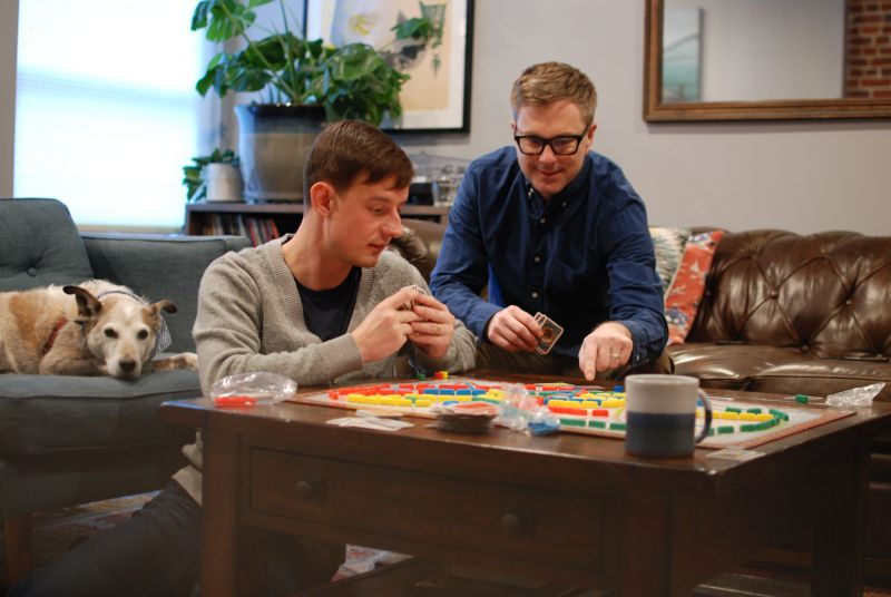 We Love Playing Board Games With Friends