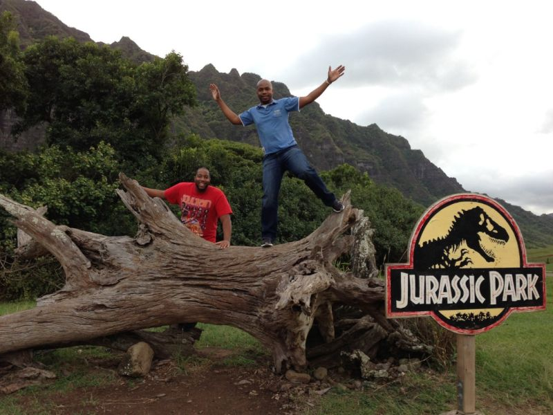 Exploring the Set of Jurassic Park in Hawaii
