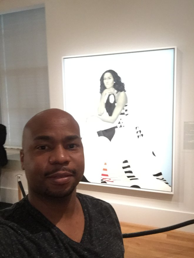 At the National Portrait Gallery
