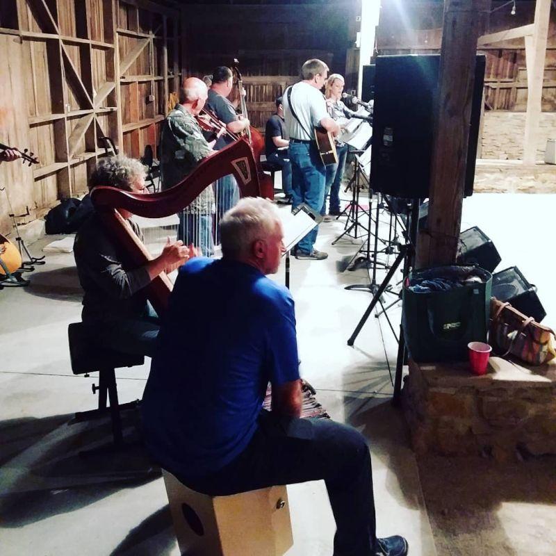 Hymn Sing at Laura's Sister's Barn