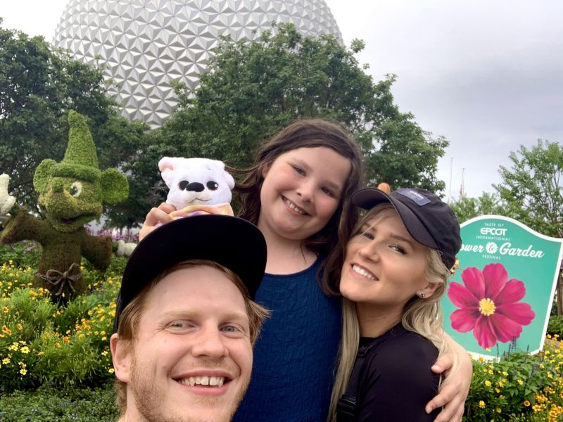 Taking Our Littlest Cousin to Disney
