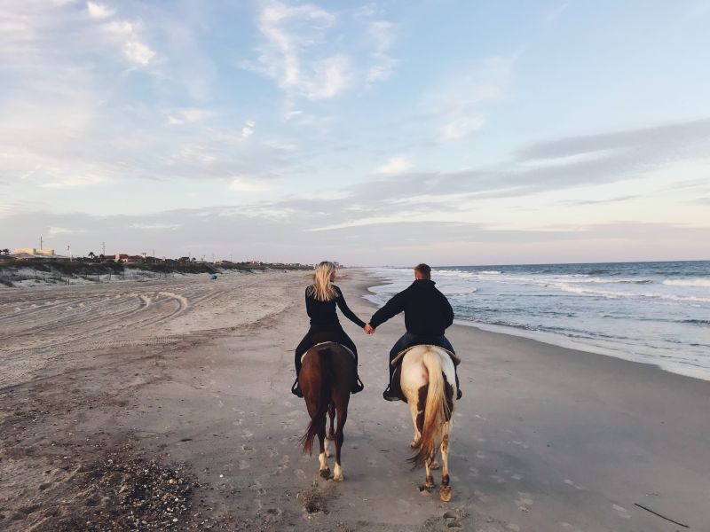 Horseback Riding on the Beach  was an Amazing Experience