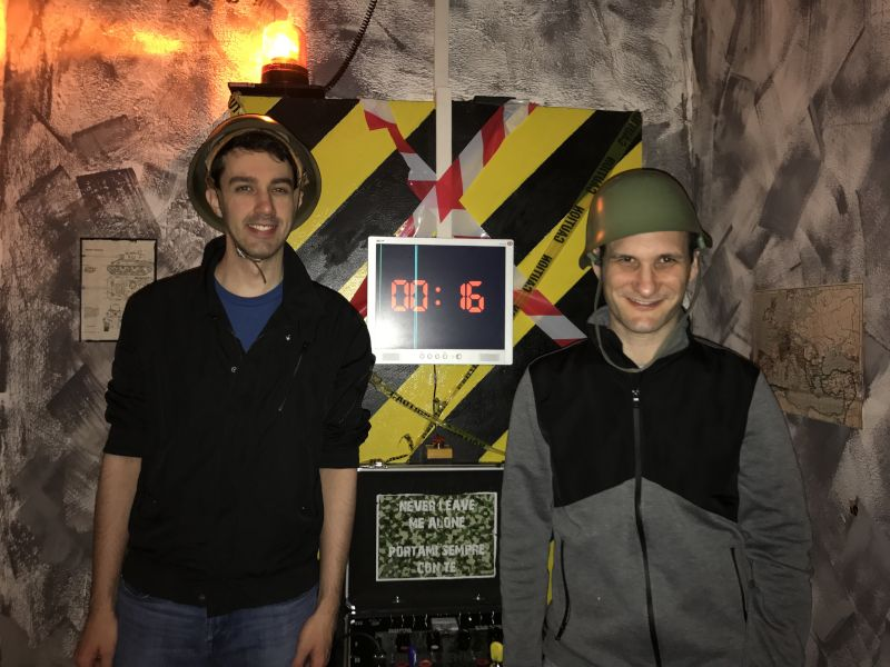 At an Escape Room