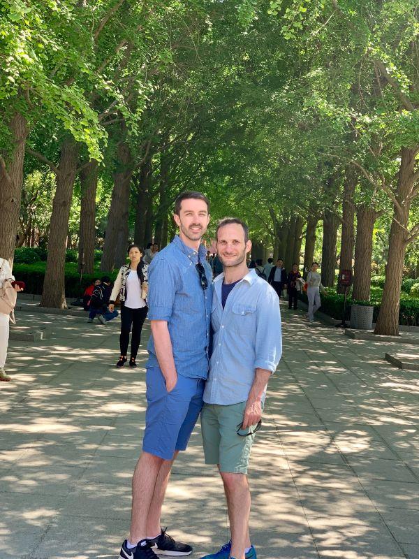 In a Beijing Park