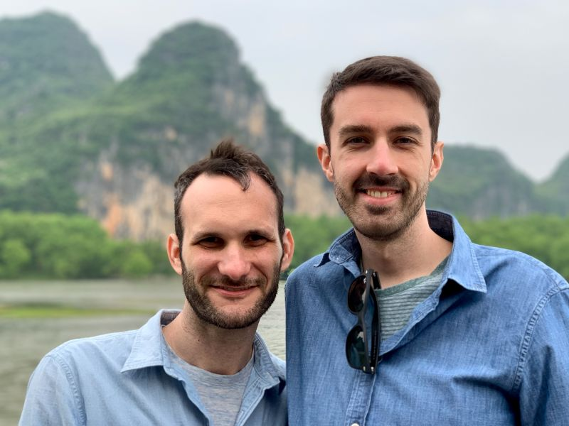 On a River in China