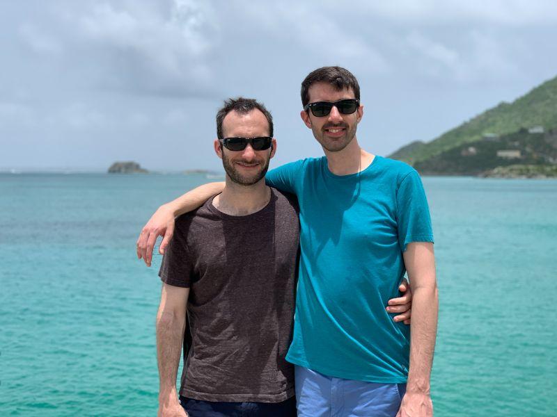 On an Island Beach
