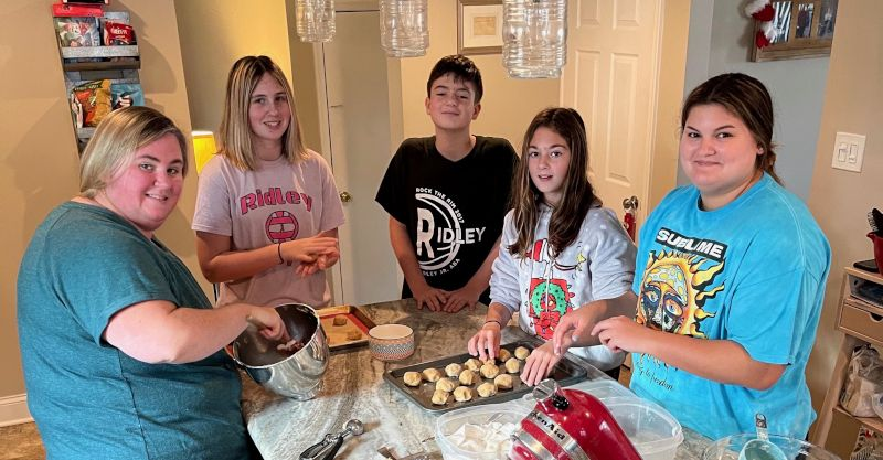 Passing Along the Cookie Day Tradition to the Younger Generation