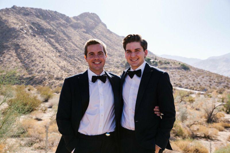 At Our Friend's Desert Wedding