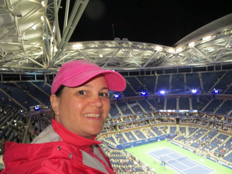 At the U.S. Open