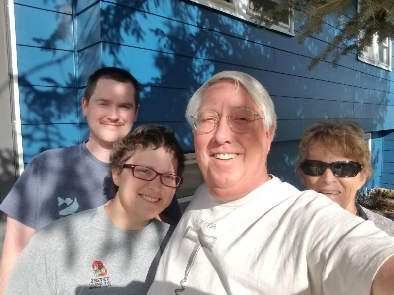 Leewood's Family Visiting From Florida