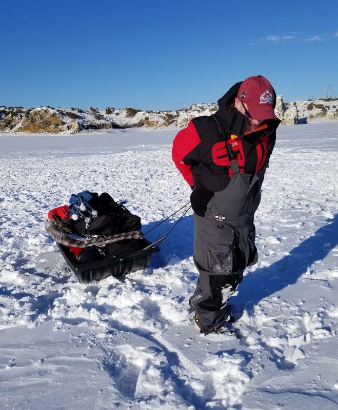 Sean Ice Fishing