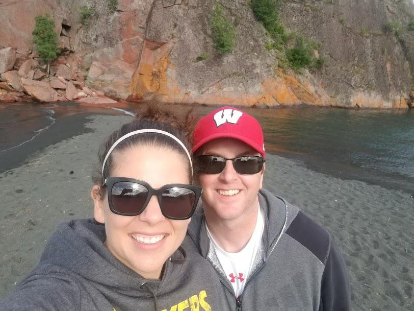 Exploring Black Beach in Minnesota