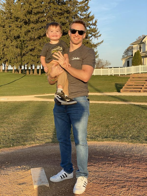 Visiting the Field of Dreams Movie Set With Our Nephew
