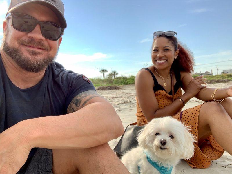 On the Beach in Charleston