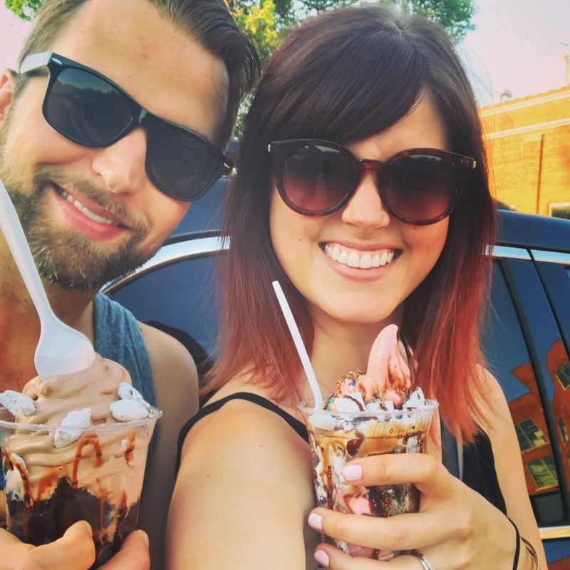 Having Crazy Sundaes From a Local Shop Last Summer