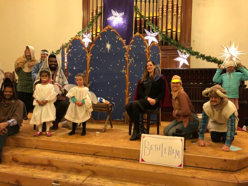 Christmas Pageant at Church