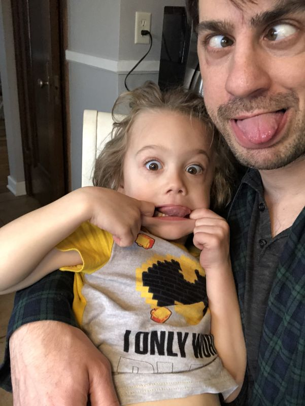 Making Silly Faces!