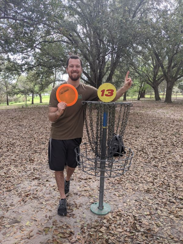 Disc Golf Hole in One!