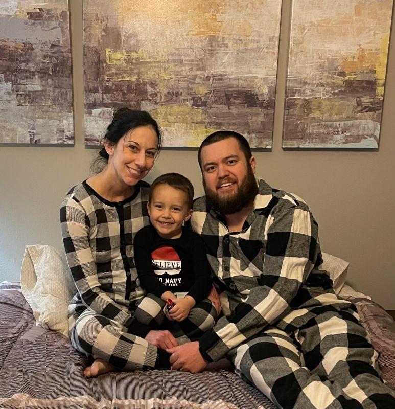 Matching Christmas Family Pajamas