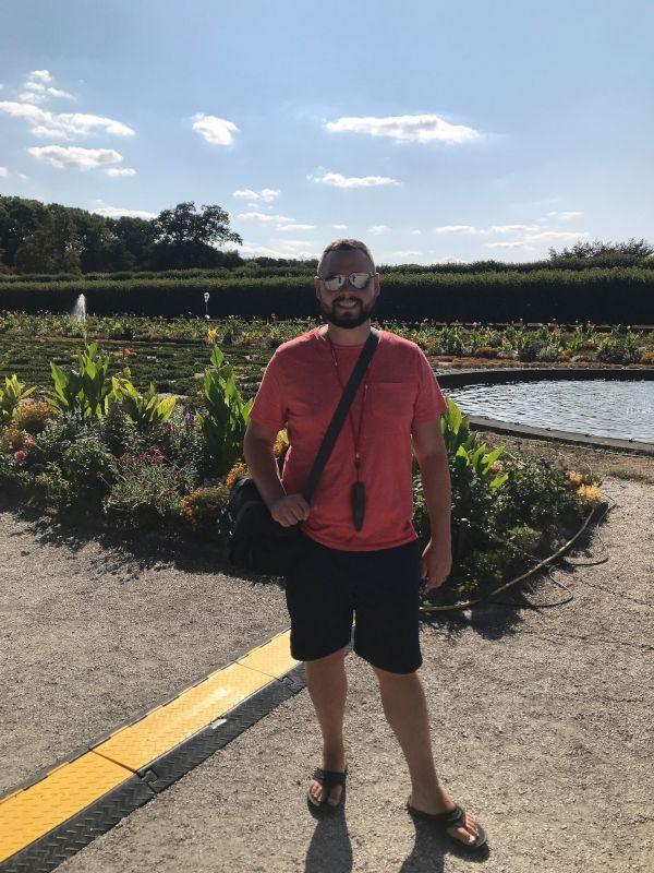 Pete at the Botanical Garden