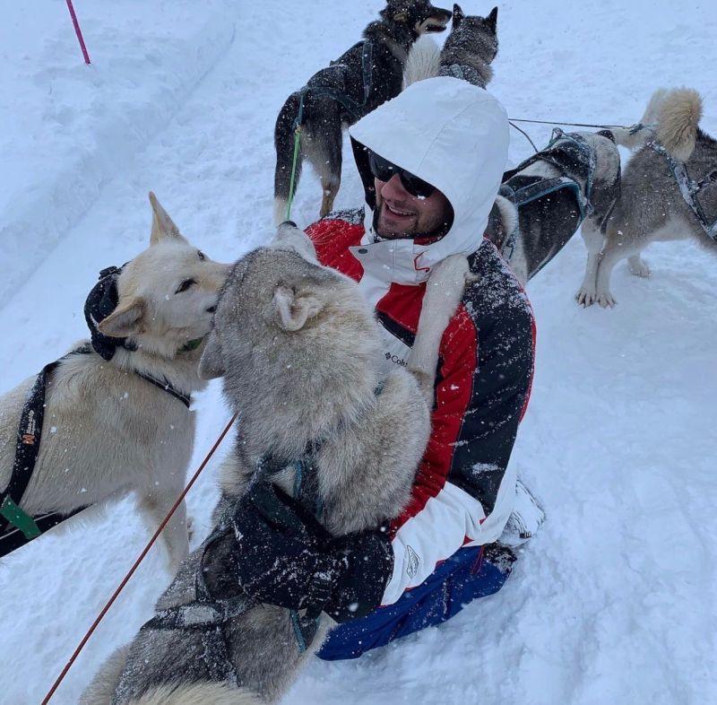 Dog Sledding in Switzerland