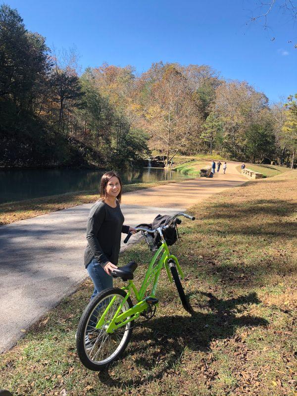 Bike Ride at Dogwood Canyon