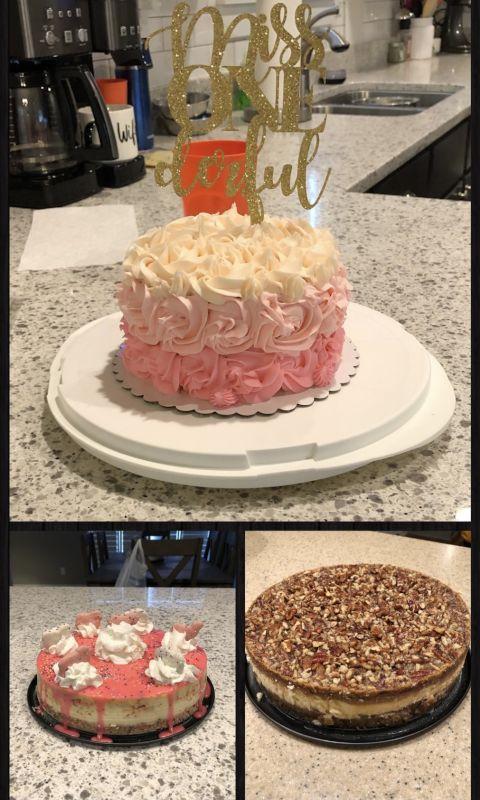 Jenn's Favorite Hobby - Making Desserts!