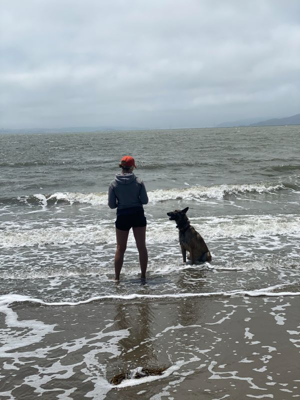 Anywhere there's Water, there's Lauren (and a Dog)