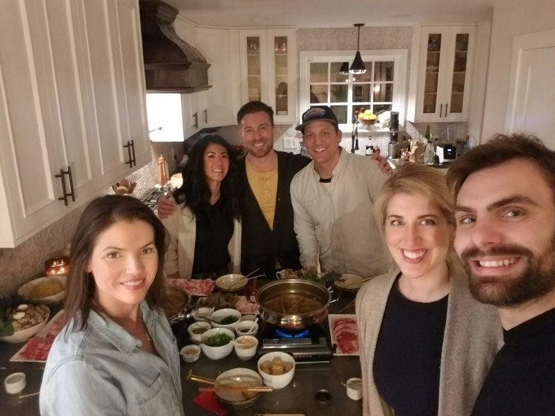 Celebrating Lunar New Year with Friends