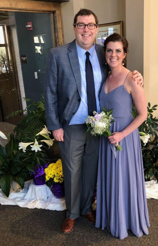 Celebrating at a Wedding
