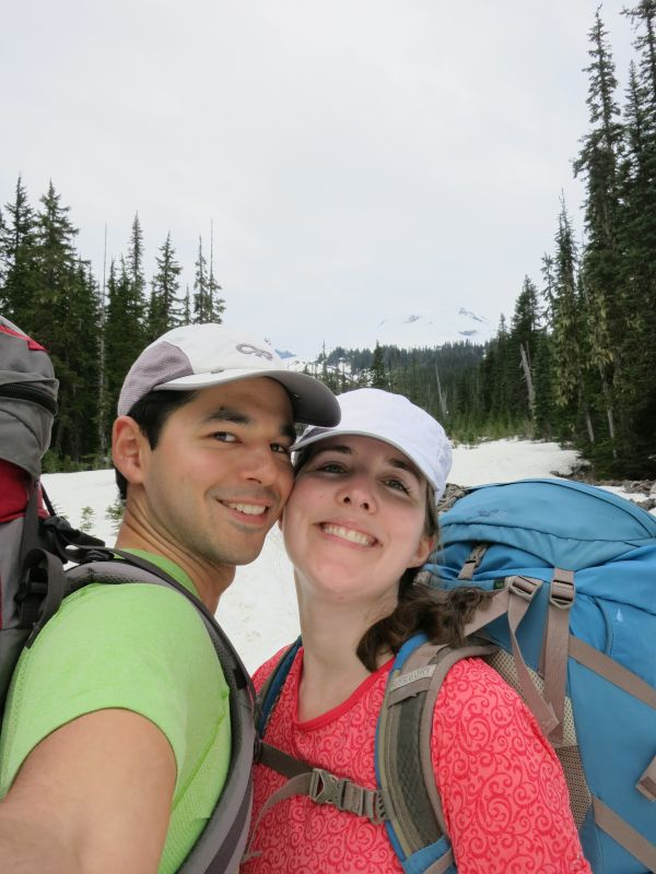 Backpacking Trip in the Snow