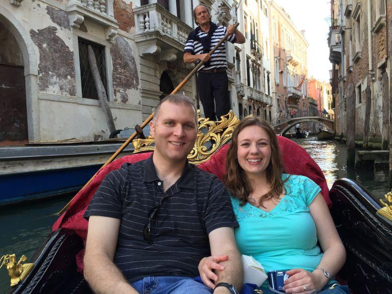 Gondola Ride in Venice, Italy