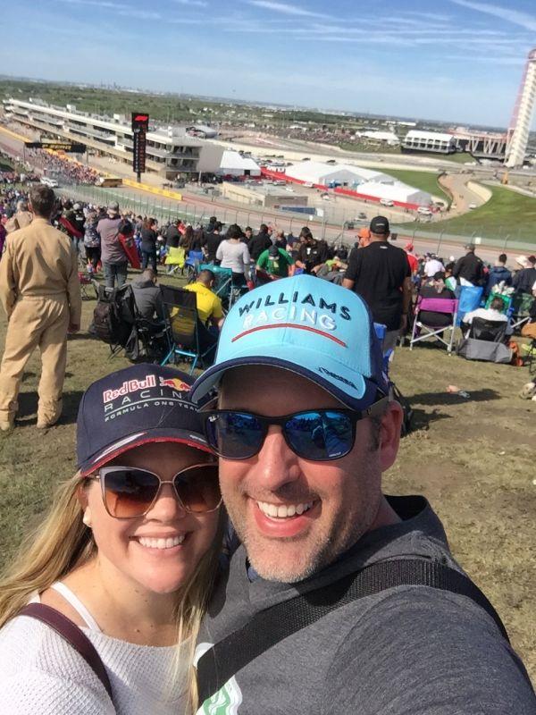 Attending a Formula One Race