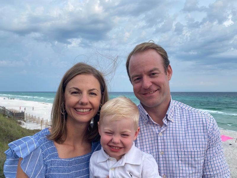 Enjoying Our Beach Trip