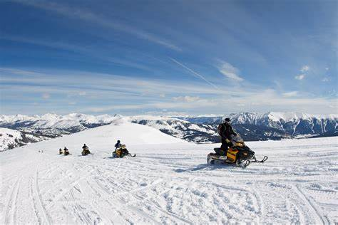 Snowmobiling is an Exciting Way We Pass the Time in the Winter!