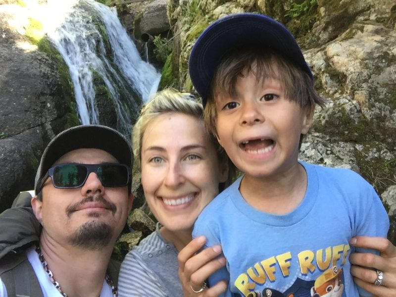 Family Hike to See a Mystical Waterfall in South Dakota