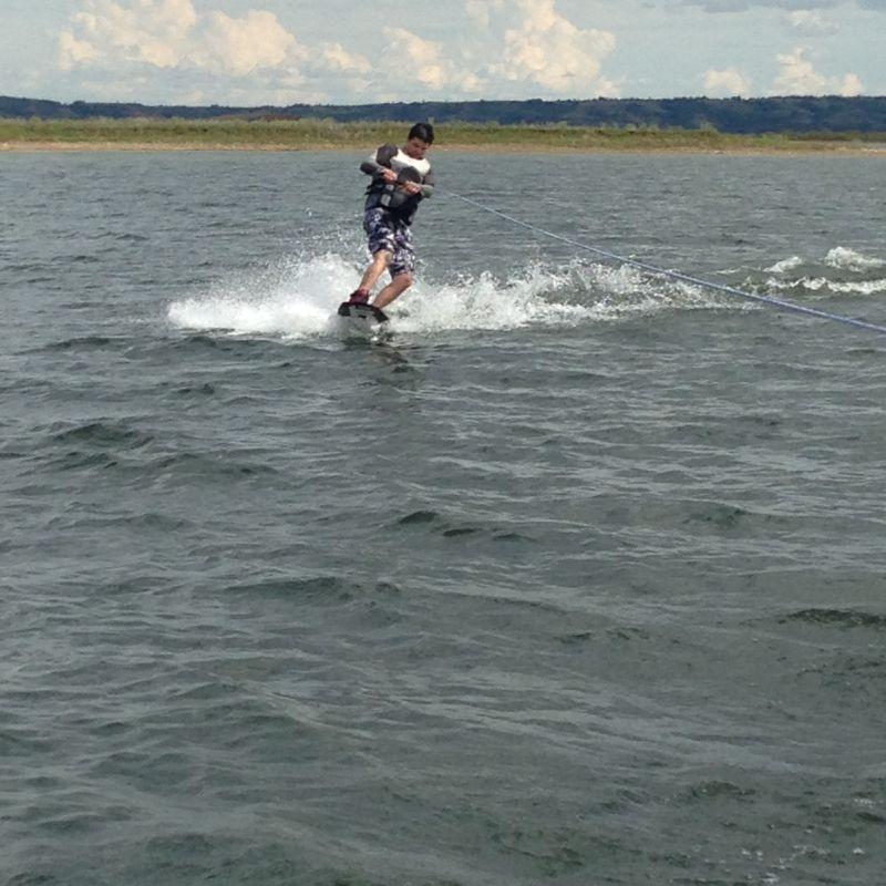 Dan Wakeboarding